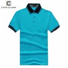 6217 Top Selling Professional Man Casual 100% Cotton Polo T-Shirt Wholesale Custom Short Sleeve Slim Fit Shirts For Men