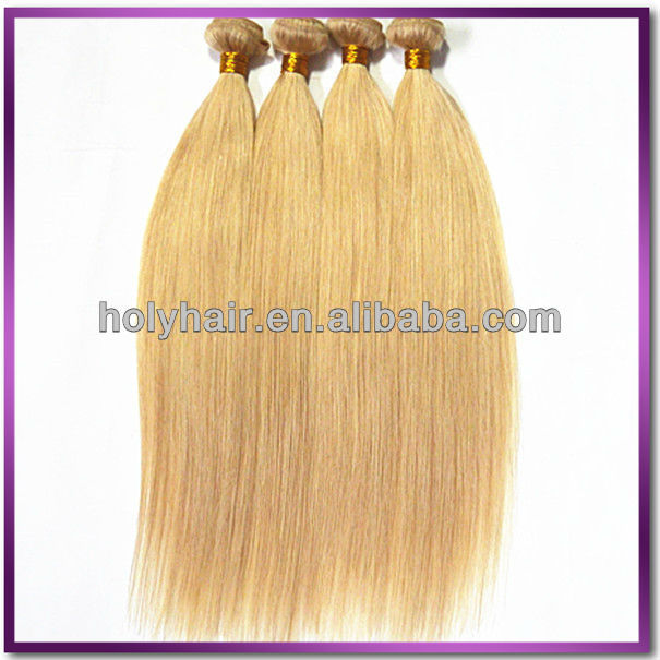 hot unprocessed virgin blonde russian 27 pieces hair weave