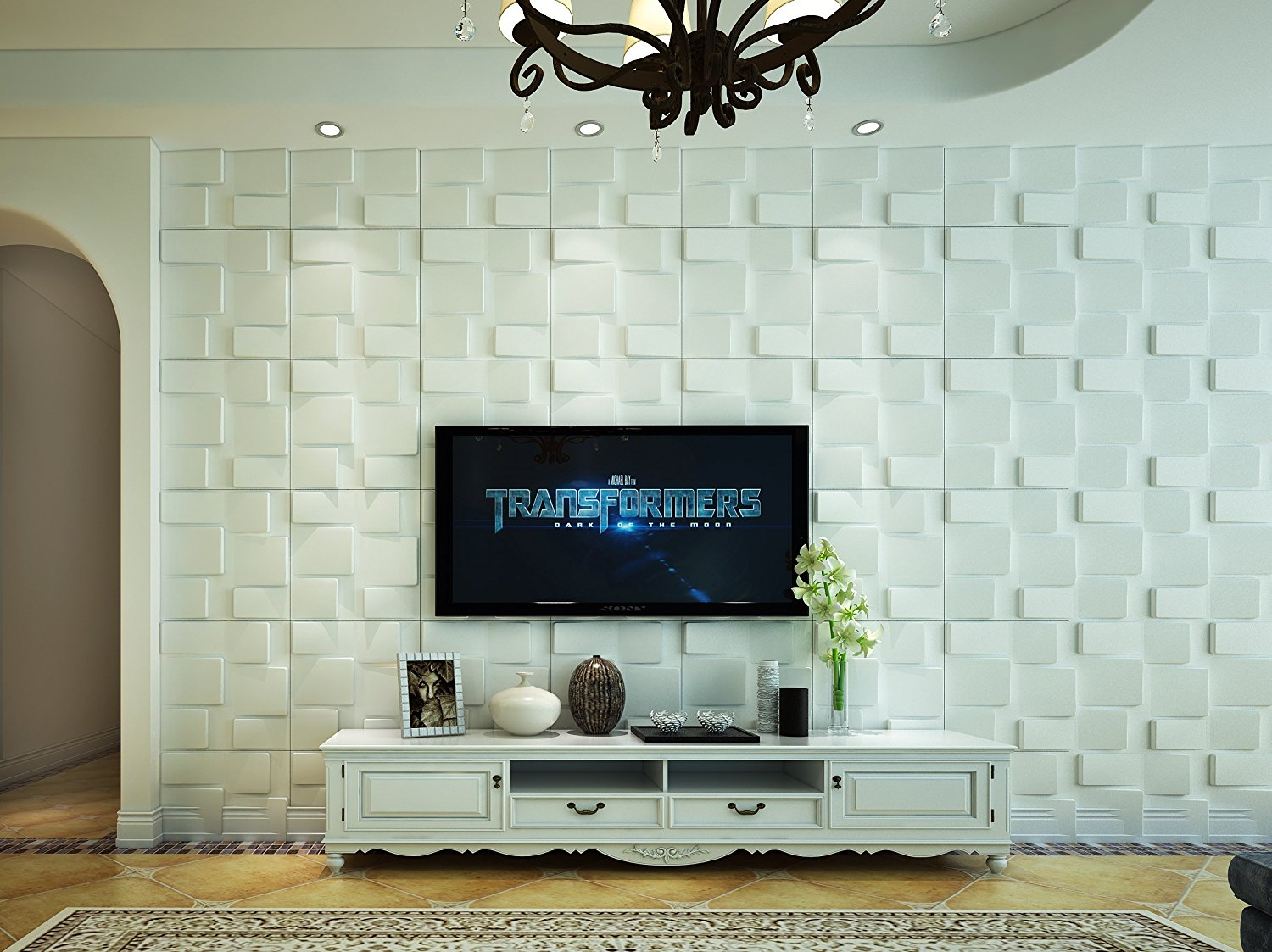 Affordable Home Innovations Modern Rubrick 3d Wall Panels Eco-friendly 32 Sq Ft
