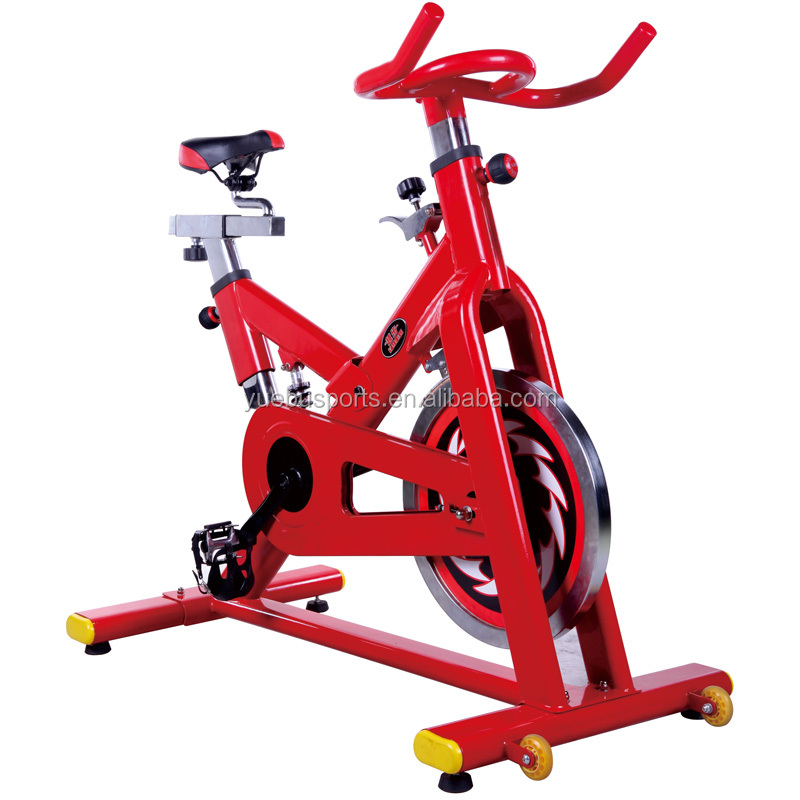 Yuebu Sports Indoor Cycle Trainer with display Sporting Goods Spinning Bike YB-X4 49 pound Flywheel