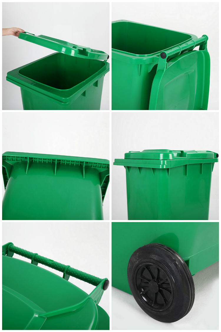 Wholesale Colorful Bathroom Waste Bin, Dustbin With Wheels/
