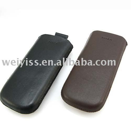 Cell Phone Mobile Phone Universal Leather Sleeve Luxury Vertical Pouch