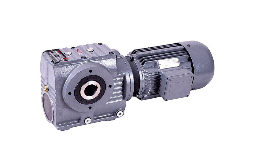 S series helical gear motor for cutting machine