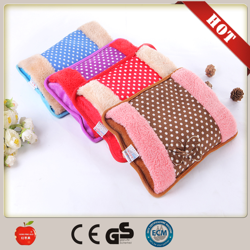 fashion Winter Electric hot Water Bag Electric Hand Warmer Pack warm keeper