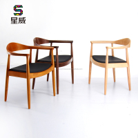 SDAWY DC-604 Wooden PU Dining Chair restaurant wood chair dining chair