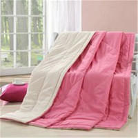 childrens used fabric down and feather quilt and comforter