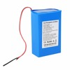 Rechargeable 12v lithium ion battery pack 6600mah with charger for led light