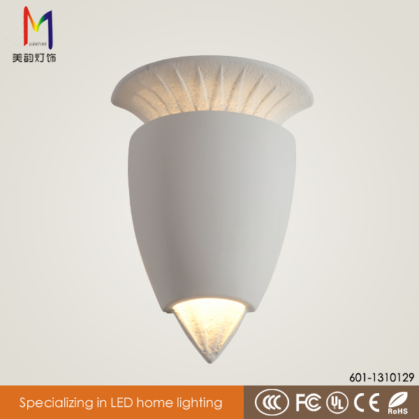 Hot Led Reading Lamp Pure Simple Gesso Bedroom Lamp Statue Art ...