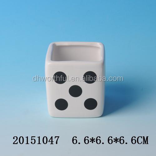 dekorativen mini keramik blument pfe antike keramik. Black Bedroom Furniture Sets. Home Design Ideas