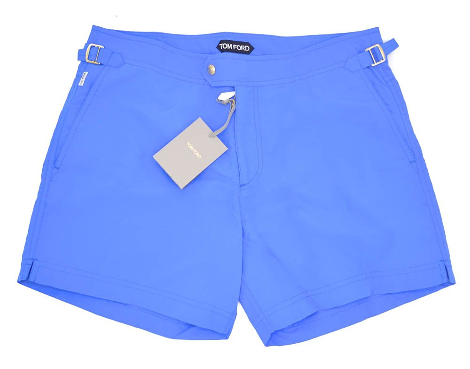 Tom Ford Blue Swimming Trucks Shorts Bathing Suit Size 48 Euro 30 U.S.
