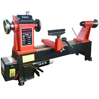 woodworking machine hot-sale heavy-duty wood lathe MC1218VDB with high quality for family DIY
