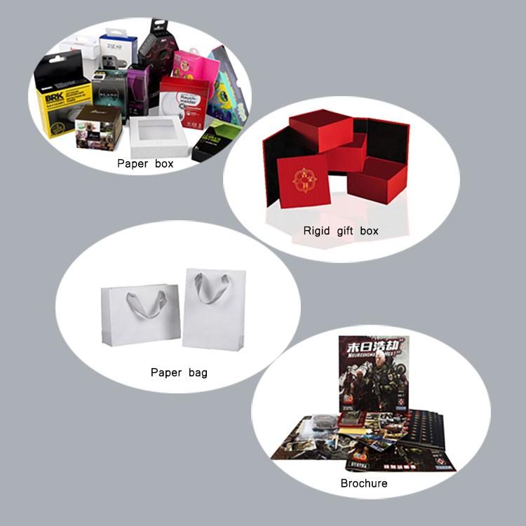 कस्टम लोगो कागज गत्ता खाली चलाओ एक्सटेंशन पैकेजिंग बॉक्स