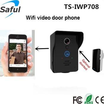 Citofono Wireless Lunga Portata.Lunga Distanza Wifi Video Citofono Saful Ts Iwp708 Supportare Ulteriori Campanello Senza Fili Buy Video Citofono Wifi Video Citofono A Lungo Raggio