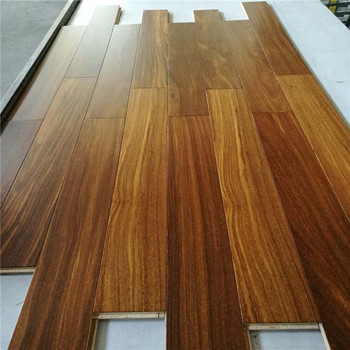 Oak Finishing Solid Red And Black Coconut Wooden Flooring Type Wood