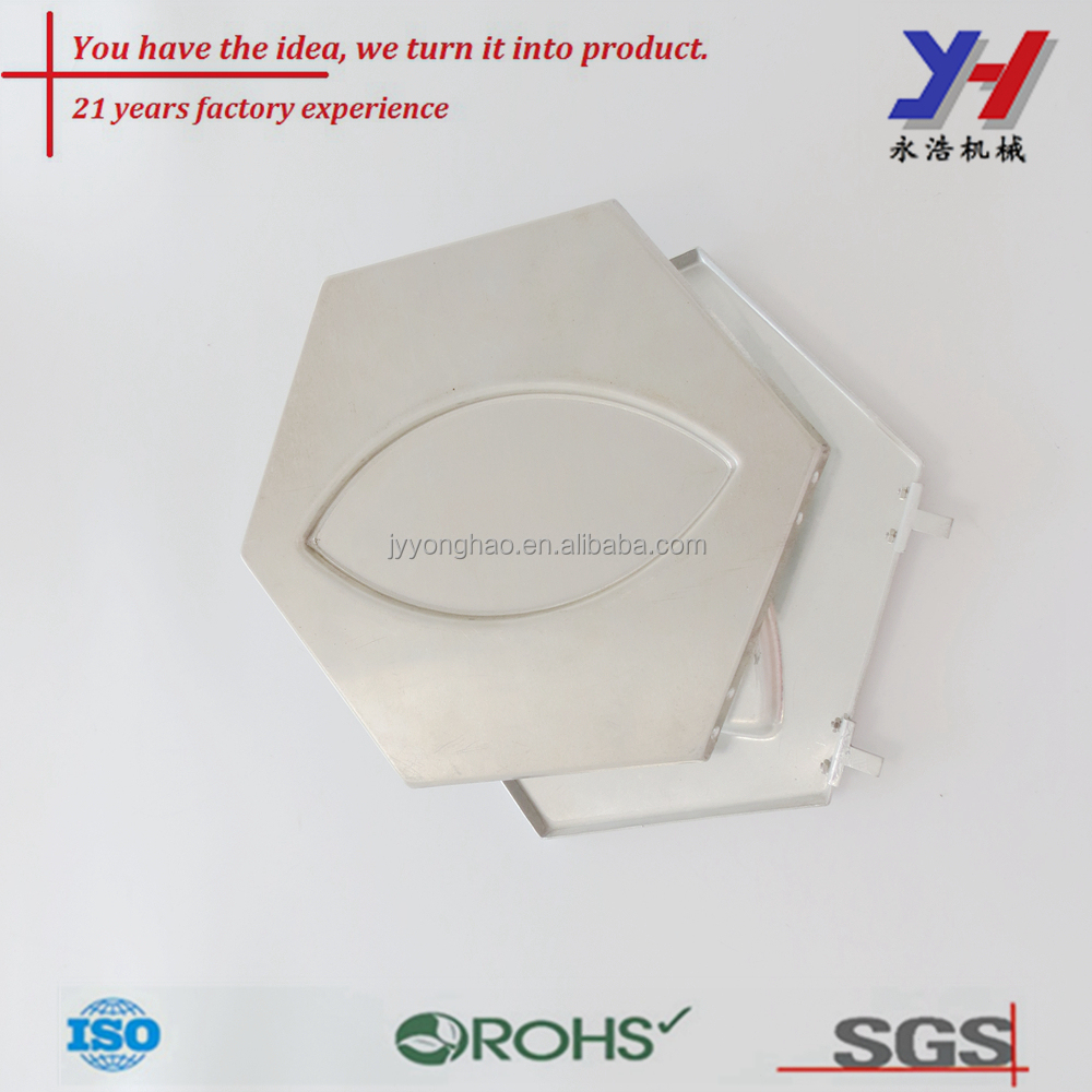 High precision sheet metal bending stamping Aluminum structure part