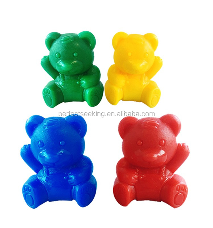 Amazon.com: 72 Rainbow Colored Counting Bears with Cups for ...