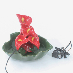 High quality modern garden ornaments decorative handmade ceramic water fountain