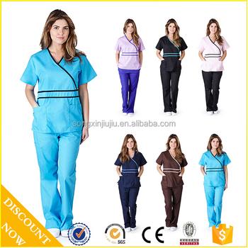 8446cf3a2ea Natural Medical Hospital Uniforms Unisex Scrub Set - Buy Designer ...