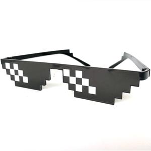 28069c81371e 2018 New Deal With It Glasses Thug Life Glasses Pixel Women Men Sunglasses  Black Mosaic Sun