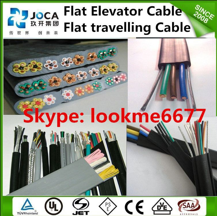 Utp Cat5e Elevator Cable Utp Cat6 Lift Travelling Cable H05vvh6-f ...