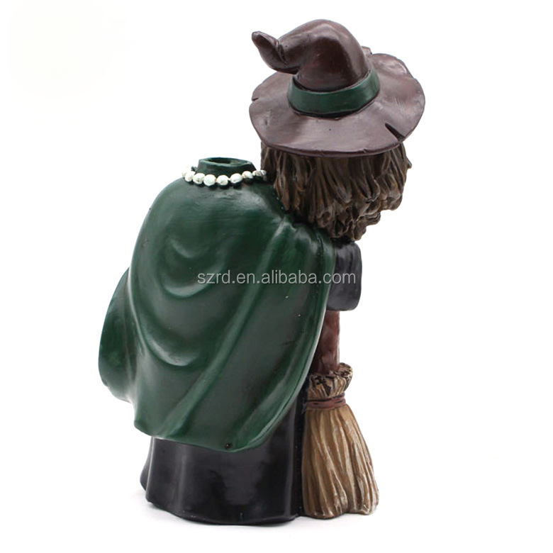 Factory custom handmade Halloween party resin figurines for sale with cheap price