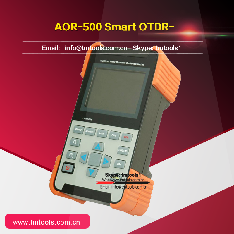 High Quality Smart Fiber Optic AOR-500 Micro OTDR with 32dB 1310&1550