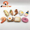 Super Lifelike Digital Printing Dog Stuffed Plush food /Hamburgers/fried chicken,/icecream/donuts shape