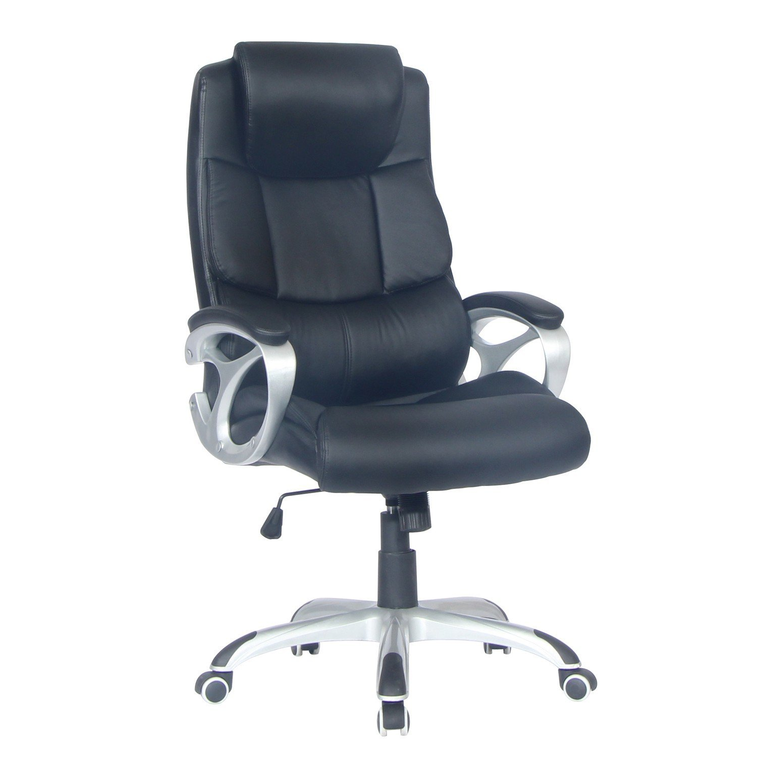 Get Quotations Tygerclaw Tyfc2102 Executive High Back Leather Office Chair With Headrest