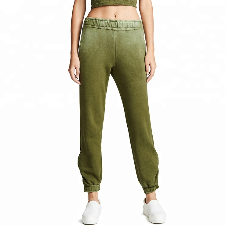 Frauen Terry Color Gradient Joggers Track Pants