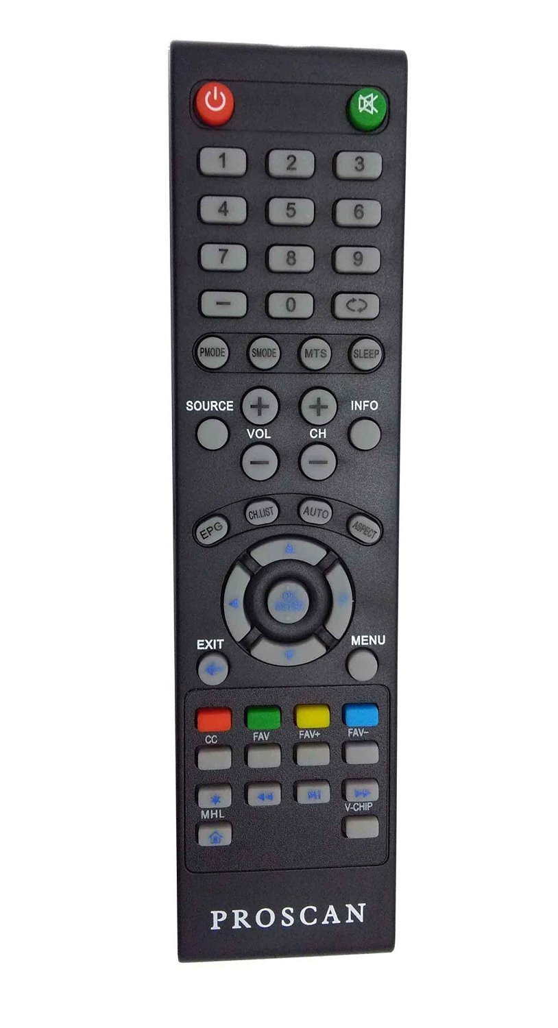 PROSCAN Remote Control With MHL Function for PROSCAN LCD LED TV (+MHL)