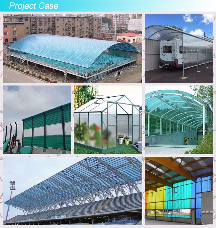 Wholesale ge lexan polycarbonate sheet manufacturers for office buildings-9