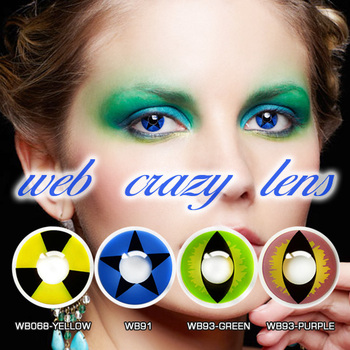 halloween funny cosmetic magic eye best quality yearly crazy color contact lenses
