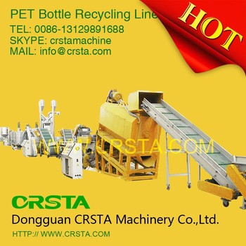Competitive price of PET washing and recycling line