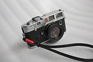 Yibuy Black Adjustable PU Leather Wrist//Hand Strap Grip for SLR DSLR Camera
