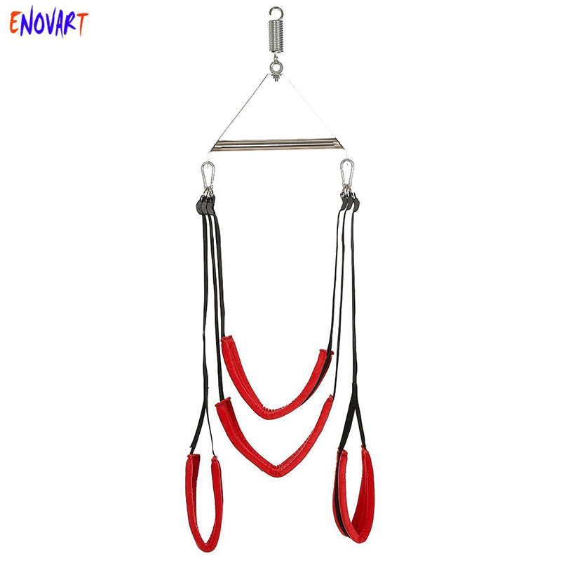 Sex Swing Hanging Door Bondages Handcuff Restraint Love Swing Bondages For Couples Adult Sex Games Home