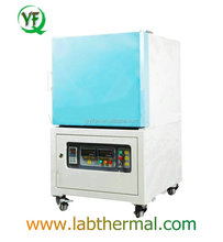 YF1700 CE high temperature electric dental laboratory muffle furnace 1700C for composition analysis
