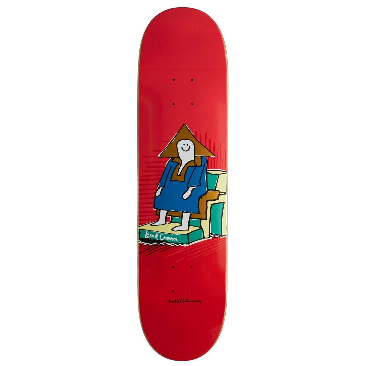 Krooked Cromer Hi Chair Skateboard Deck - 8.06""
