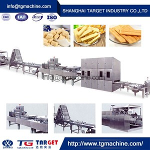 Full Automatic wafer biscuit machine production line