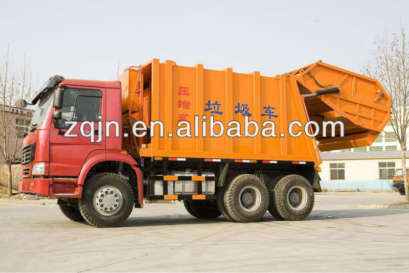 SINOTRUK 6X4 10m3 Capacity of Garbage Truck Solid Waste Compactor
