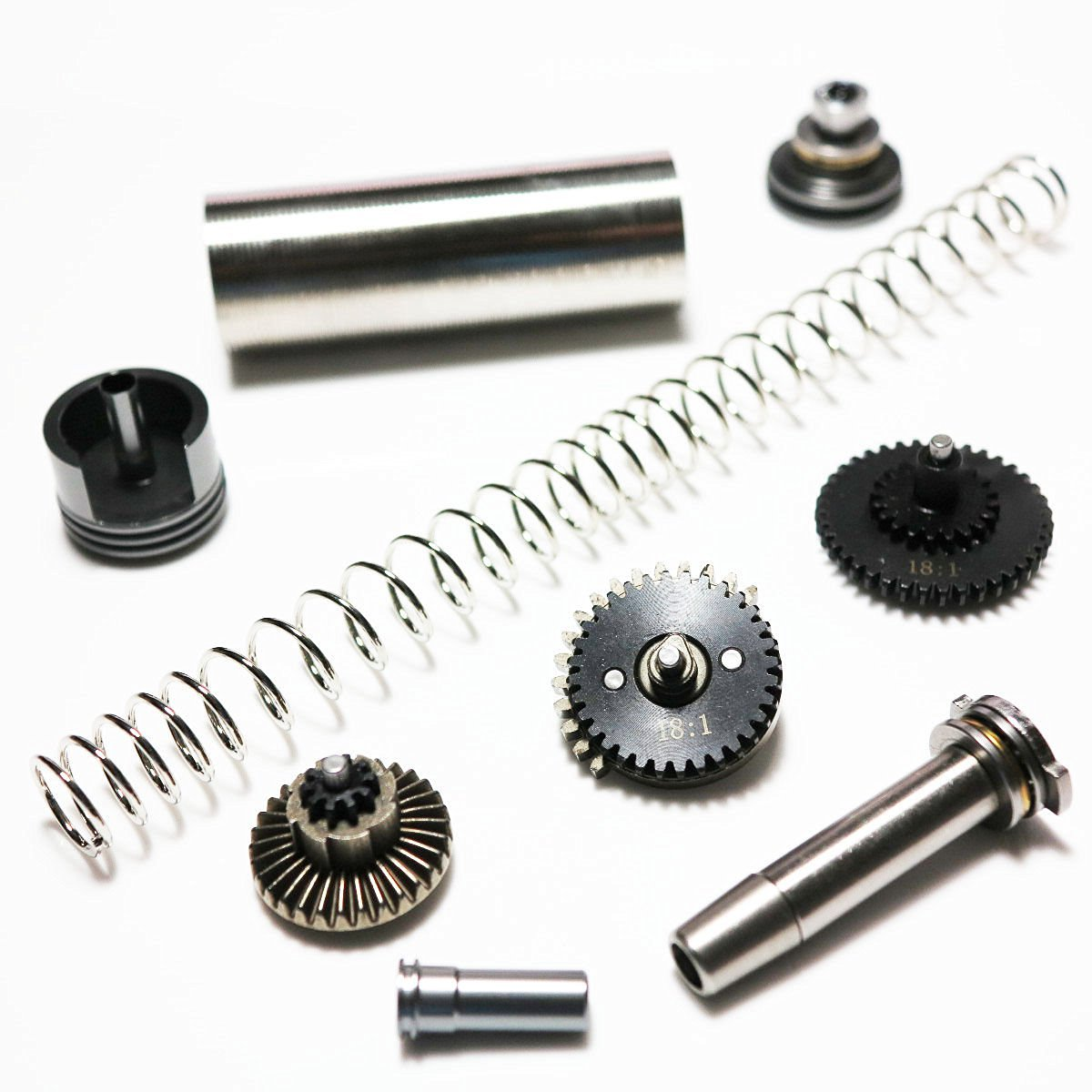 AEG Airsoft Wargame Shooting Gear Army Force Low Noise M-Series High Torque 18:1 Gear Tune-Up Set