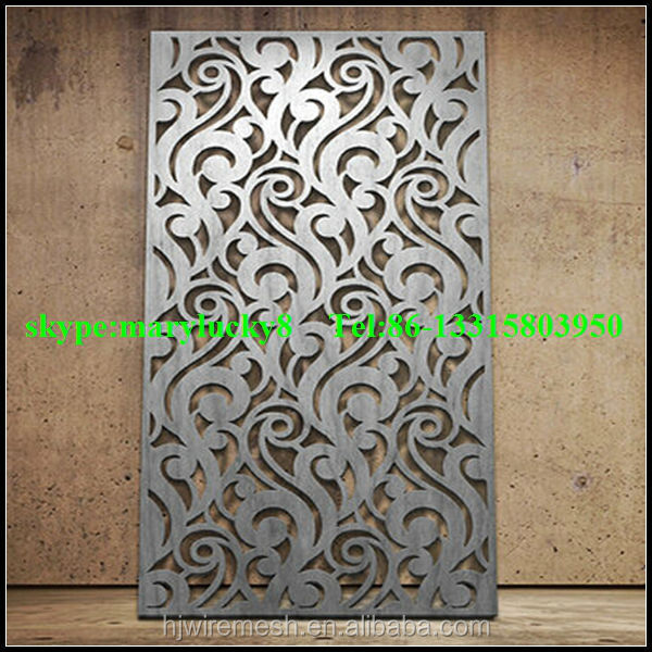 Architectural Metal Screen Laser Cut Privacy Screens
