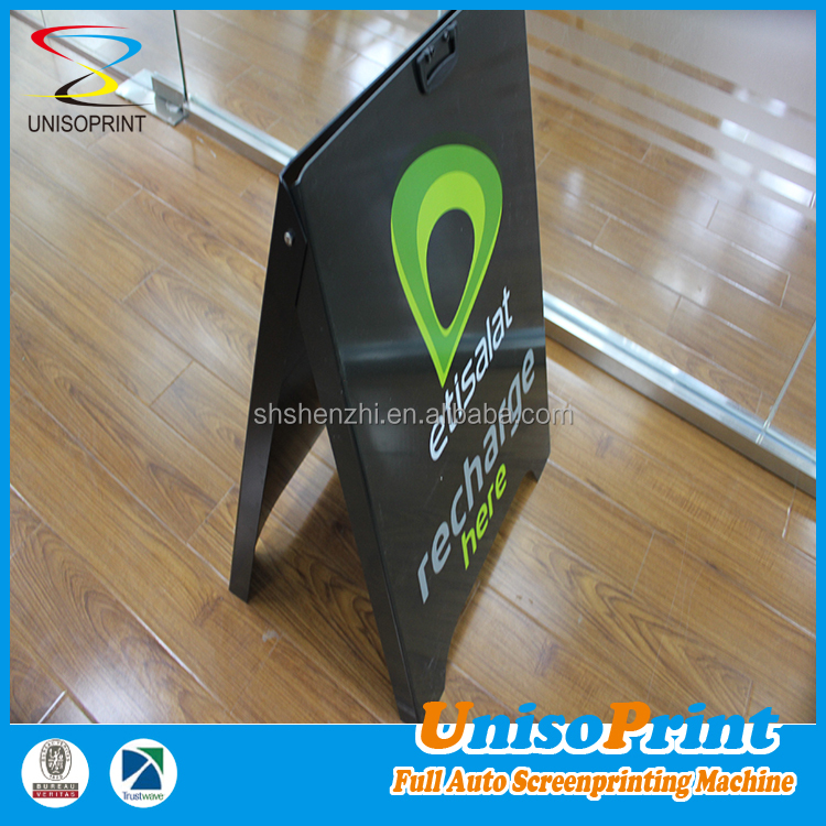 Plastic A frame sign,outdoor advertising signboard design/ A Display Stand