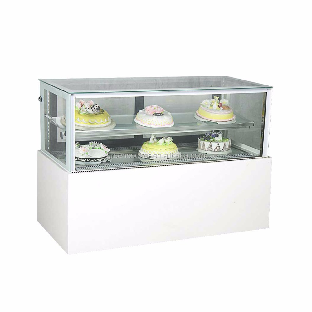 Green Health bakery display cake showcase/cake refrigerator/cake display cabinet