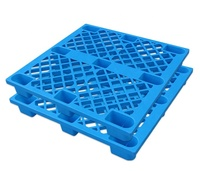 Chinese Heavy Duty Single Side Stackable Warehouse Plastic Pallet Nine Feet Mesh Pallet 1200x800 Plastic Pallet Prices
