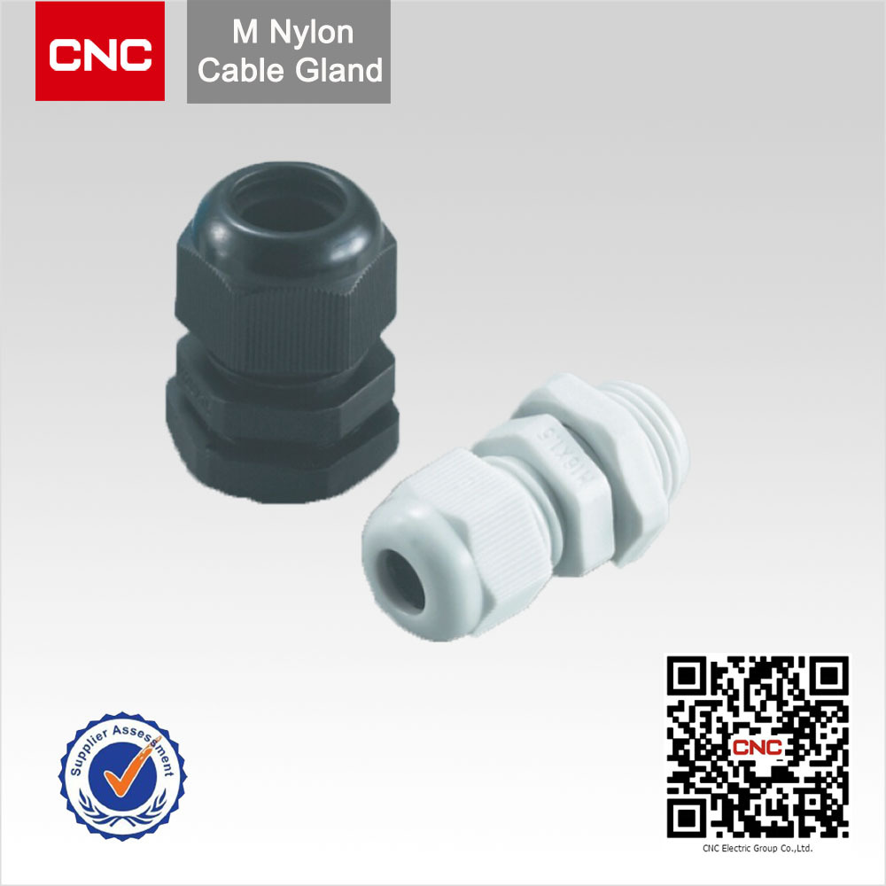 PG metric nylon cable gland size