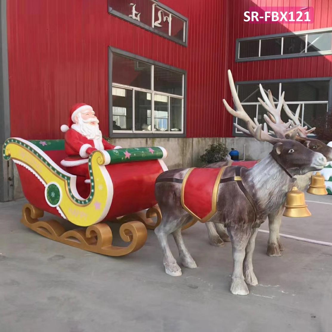 1.8m Giant Life Size Outdoor Large Fiberglass Christmas