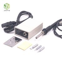 portable digital soldering station with soldering iron fast shipping