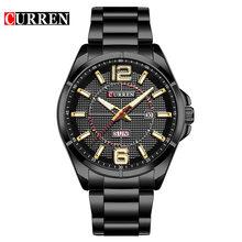Наручные часы CURREN, 2019, кварцевые мужские часы, Лидирующий бренд, роскошные известные модные наручные часы, мужские часы, Relogio Masculino Hodinky(Китай)