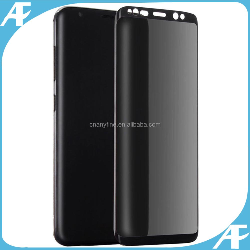 059d013548c Privacy Anti-Spy vidrio templado protector de pantalla de película para  Samsung Galaxy S8edge/