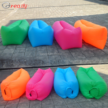 2016 outdoor inflatable air sleep sofa lounge laybag, hangout bean bag,inflatable air lounge air bed